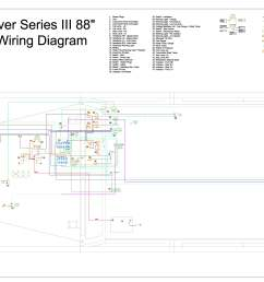land rover series 3 wiring loom diagram 39 wiring [ 6623 x 4678 Pixel ]