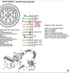 tow socket wiring landyzone land rover forumland rover plug wiring 10 [ 1051 x 985 Pixel ]