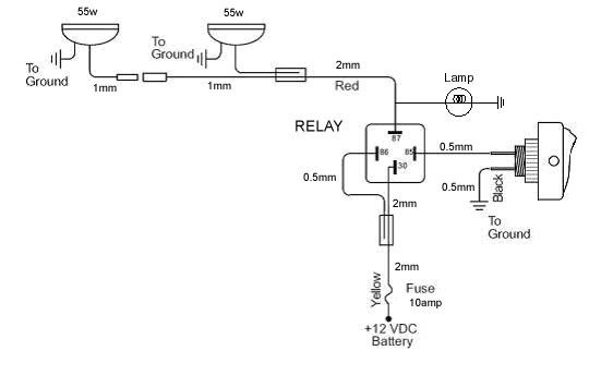 related with simple spotlight wiring diagram