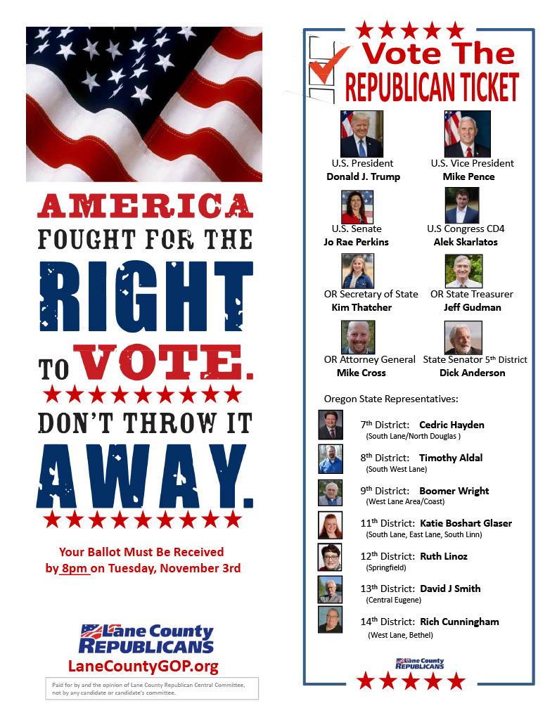 Vote Republican Candidates