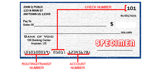 Aba Routing Number Verification