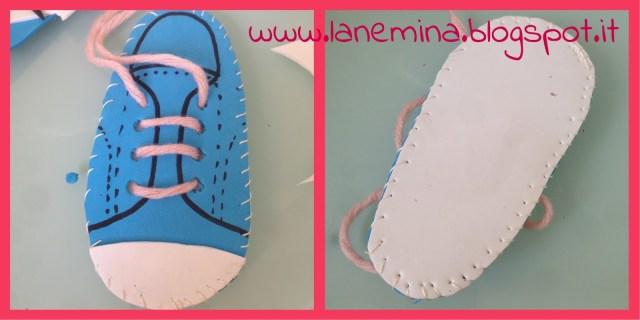 montessori per imparare ad allacciare le scarpe