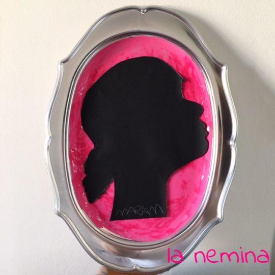 ritratto a silhouette