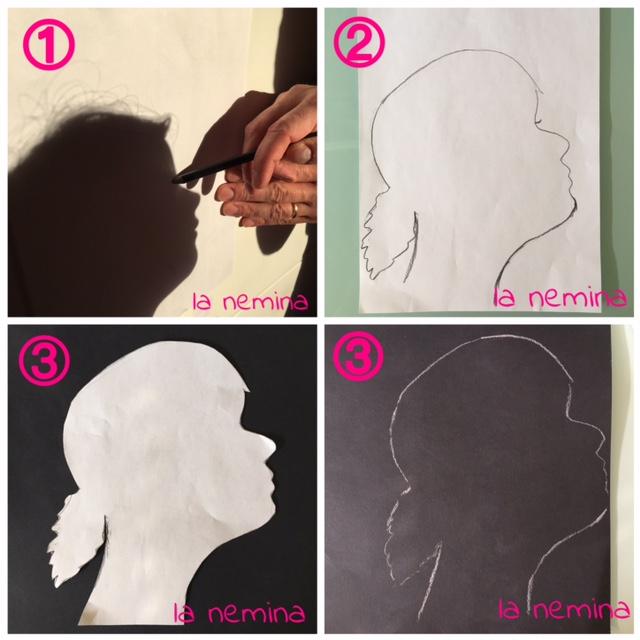 come fare un ritratto con ombra
