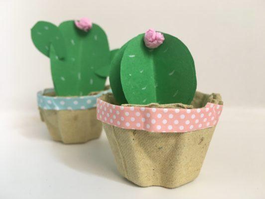 cactus di carta
