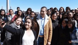 Rafa Moreno Valle Gobernador de Puebla asegura que Puebla estará siempre en su mente y corazón