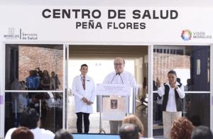 Graco Ramírez Gobernador de Morelos: Primordial el derecho a la salud