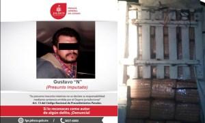 Detienen a un hombre que transportaba 750 kg de marihuana en Jalisco.