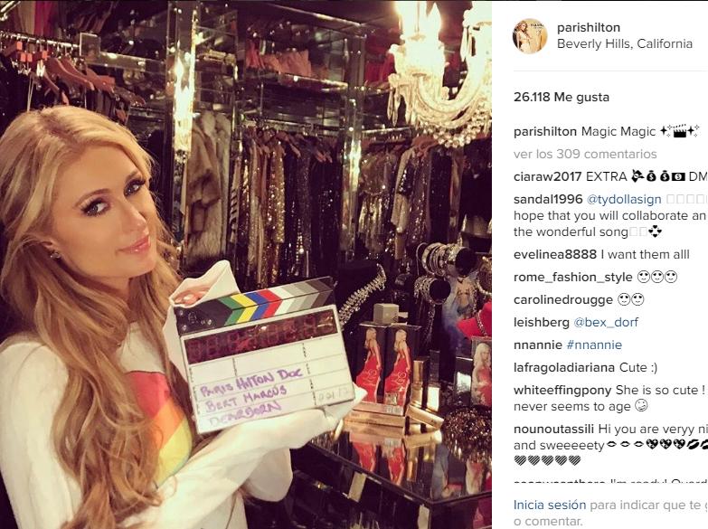 Paris Hilton presume a su nuevo novio en las redes sociales