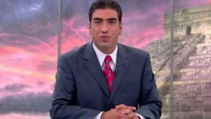 Alejandro Villalvazo conductor de Tv Azteca amenaza a indigente con pistola