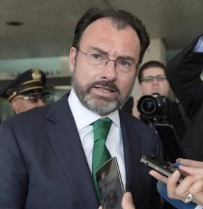 México no aceptará imposiciones de otro país: Videgaray