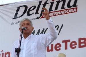 Asegura AMLO que el PRI prepara fraude electoral en Estado de México
