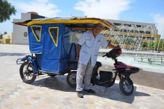 Crean motos solares que evitan contaminación