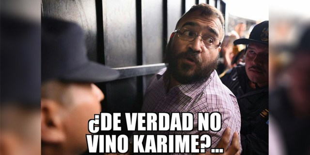 ¡No te pierdas! Los 9 mejores memes protagonizados por Javier Duarte