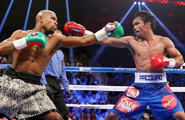 Manny Pacquiao desea la revancha con Mayweather