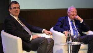 Marcelo Ebrad pide frente Iberoamericano vs Trump en España