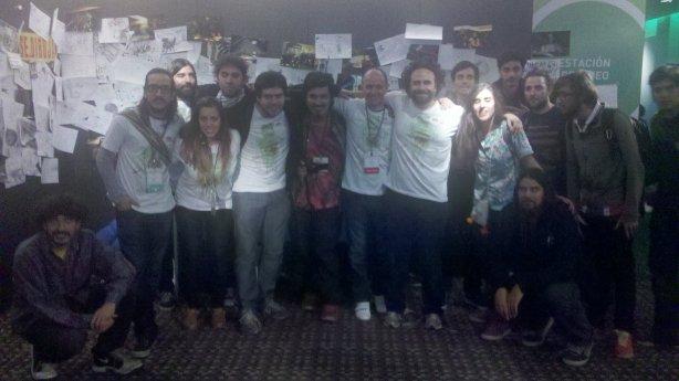 Buena parte del equipo y panelistas de UnConvention