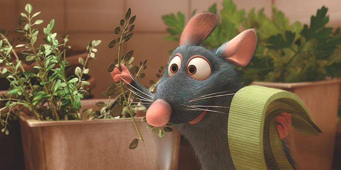 Lecciones de vida de Pixar - Ratatouille