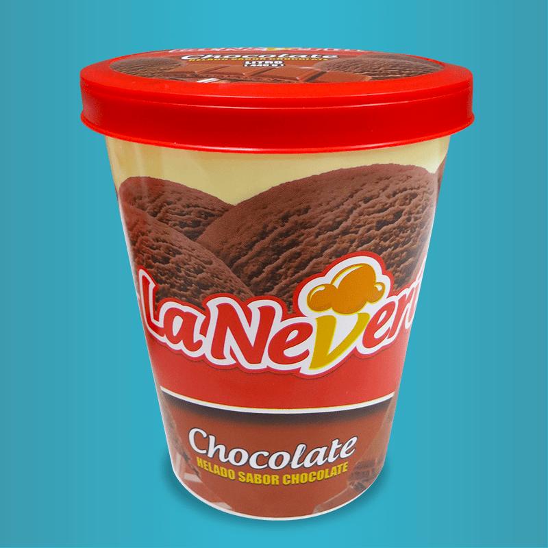 Litro de helado Chocolate  La Neveria