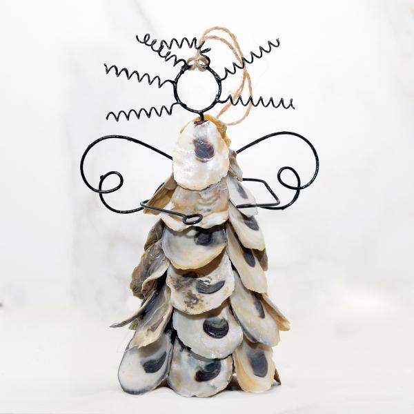 Angel Shell Ornament