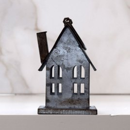 Metal House Ornament