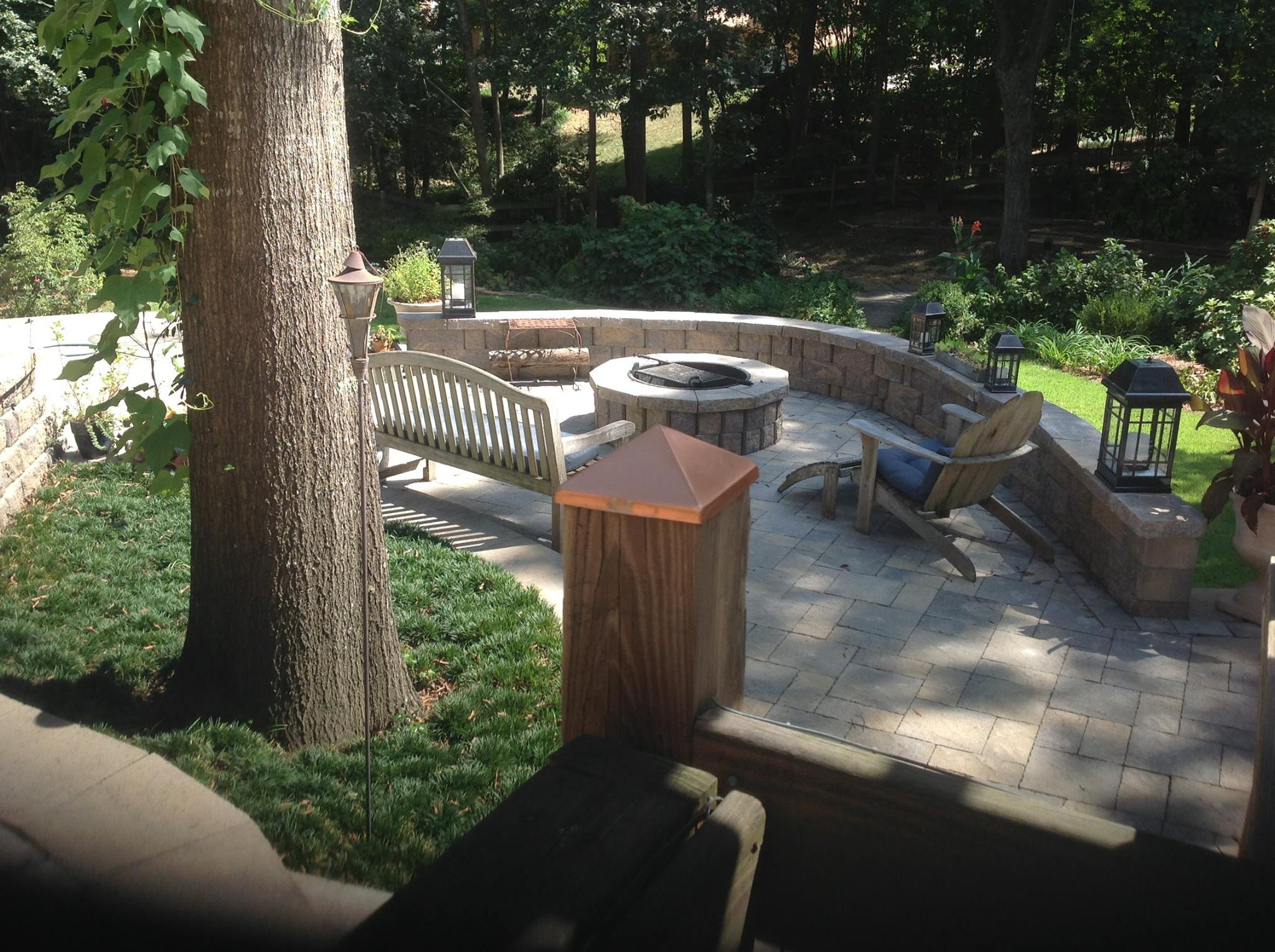 Top landscapers in charlotte nc - Fire Pit 2