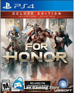 For Honor Deluxe PS4