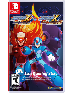 Mega Man X Legacy Collection 1 y 2 Switch