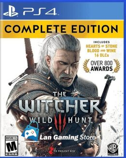The Witcher 3 Edicion Completa PS4