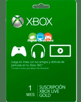 1 mes Xbox Gold Peru