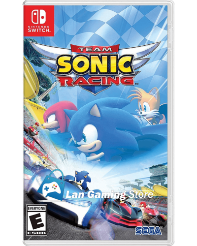Cover Team Sonic Racing para Nintendo Switch