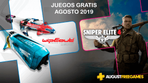 Juegos gratis de Playstation Plus de agosto 2019