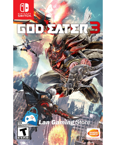 God Eater 3 para Nintendo Switch con poster gratis Peru