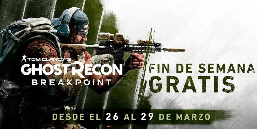 Ubisoft nos da un fin de semana gratis con Ghost Recon Breakpoint durante la cuarentena