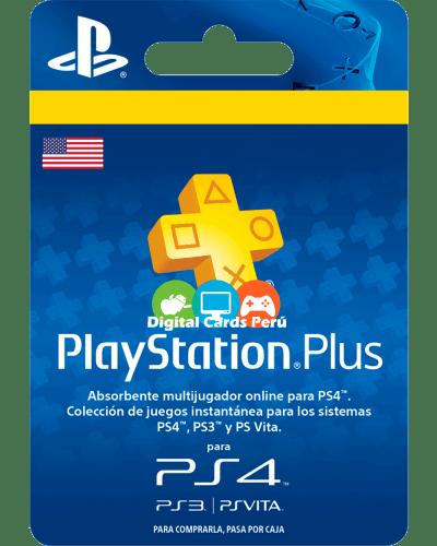 Foto de Membresía o Suscripción de Playstation Plus para cuenta de Estados Unidos