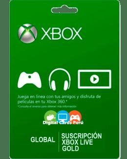 Foto Base Xbox Live Gold Global (sin restricción de región)