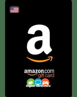 Foto de Ejemplo de Tarjeta Amazon USA