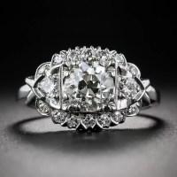 1.11 Carat Diamond Vintage Engagement Ring