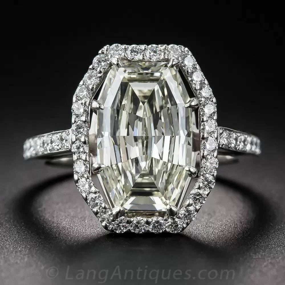 328 Carat Fancy Cut Diamond Ring