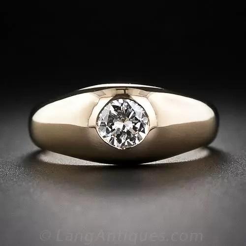 55 Carat Diamond Estate FlushSet Ring