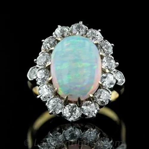 Opal Wedding Rings For Women