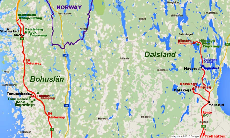 Image result for dalsland map of sweden