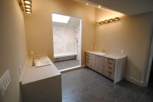 Modern Dual Vanity Bathroom 1