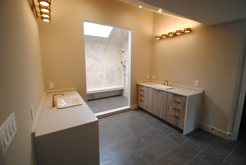 Modern Dual Vanity Bathroom 1