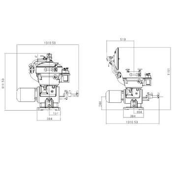 Marine Disk Separator,Alfa Laval Type,Single Separator