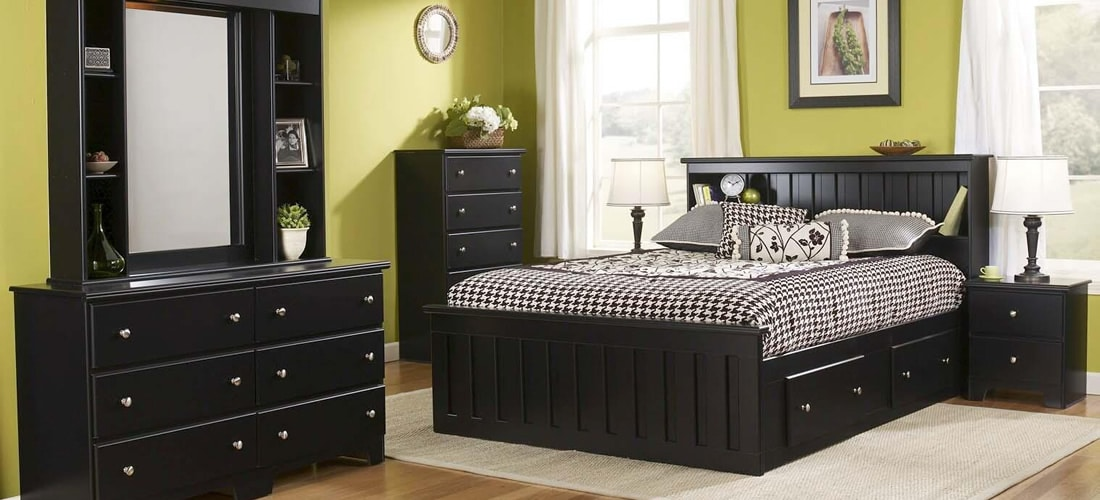 Classic Black Bedroom Furniture Lang Furniture
