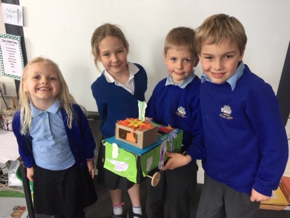 Design Technology Project in Amber Class – Langham Village School