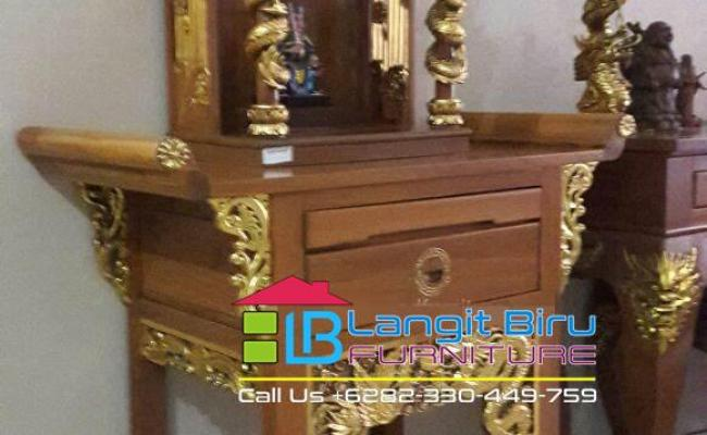 Meja Altar Mebel Jepara Langit Biru Furniture