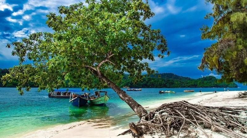 Island hopping langkawi beras basah