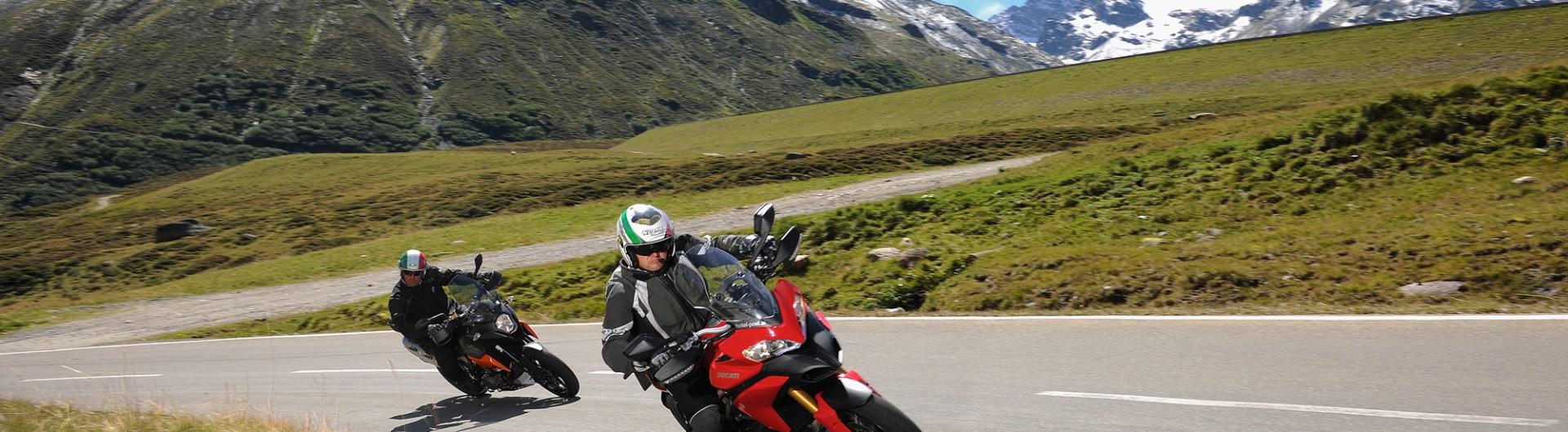 Motorrad fahren in Galtür